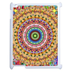 Peaceful Mandala Apple Ipad 2 Case (white) by designworld65