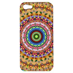 Peaceful Mandala Apple Iphone 5 Hardshell Case by designworld65