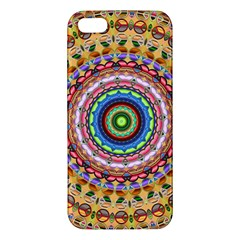 Peaceful Mandala Apple Iphone 5 Premium Hardshell Case by designworld65