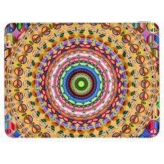 Peaceful Mandala Samsung Galaxy Tab 7  P1000 Flip Case by designworld65