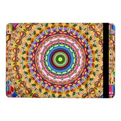 Peaceful Mandala Samsung Galaxy Tab Pro 10 1  Flip Case by designworld65