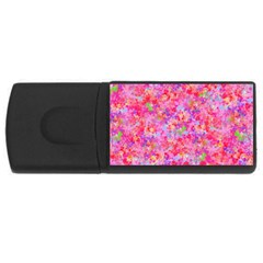 The Big Pink Party Rectangular Usb Flash Drive