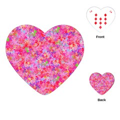 The Big Pink Party Playing Cards (heart)