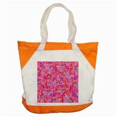 The Big Pink Party Accent Tote Bag by designworld65
