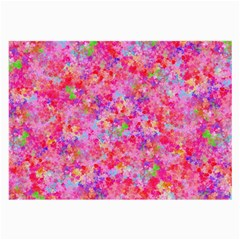 The Big Pink Party Large Glasses Cloth by designworld65