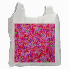 The Big Pink Party Recycle Bag (one Side) by designworld65