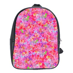 The Big Pink Party School Bag (large) by designworld65