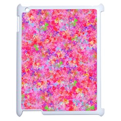 The Big Pink Party Apple Ipad 2 Case (white) by designworld65