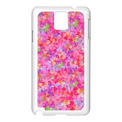 The Big Pink Party Samsung Galaxy Note 3 N9005 Case (white) by designworld65
