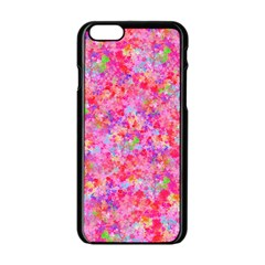 The Big Pink Party Apple Iphone 6/6s Black Enamel Case by designworld65
