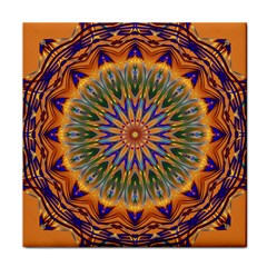 Powerful Mandala Tile Coasters by designworld65