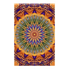 Powerful Mandala Shower Curtain 48  X 72  (small)  by designworld65