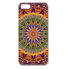 Powerful Mandala Apple Seamless Iphone 5 Case (clear) by designworld65