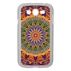 Powerful Mandala Samsung Galaxy Grand Duos I9082 Case (white) by designworld65