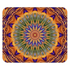 Powerful Mandala Double Sided Flano Blanket (small)  by designworld65