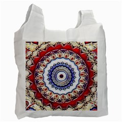 Romantic Dreams Mandala Recycle Bag (one Side) by designworld65