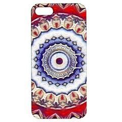 Romantic Dreams Mandala Apple Iphone 5 Hardshell Case With Stand by designworld65