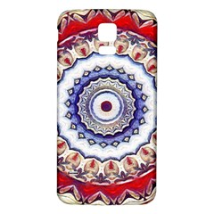 Romantic Dreams Mandala Samsung Galaxy S5 Back Case (white) by designworld65