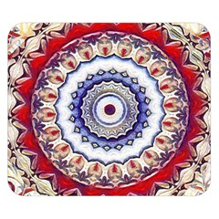 Romantic Dreams Mandala Double Sided Flano Blanket (small)  by designworld65