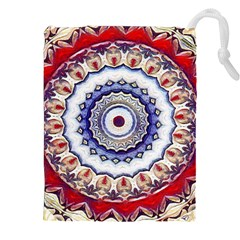 Romantic Dreams Mandala Drawstring Pouches (xxl) by designworld65