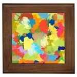 Summer Feeling Splash Framed Tiles Front