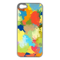 Summer Feeling Splash Apple Iphone 5 Case (silver) by designworld65