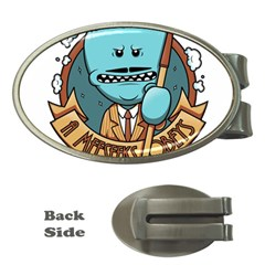Meeseeks Money Clips (oval)  by quirogaart