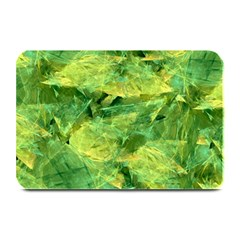 Green Springtime Leafs Plate Mats by designworld65