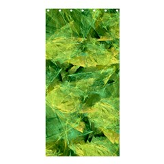 Green Springtime Leafs Shower Curtain 36  X 72  (stall)  by designworld65