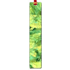 Green Springtime Leafs Large Book Marks by designworld65
