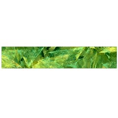 Green Springtime Leafs Flano Scarf (large) by designworld65