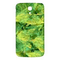 Green Springtime Leafs Samsung Galaxy Mega I9200 Hardshell Back Case by designworld65