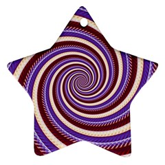 Woven Spiral Star Ornament (two Sides) by designworld65