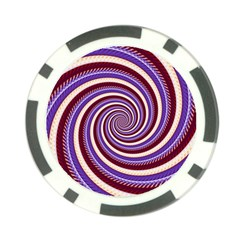 Woven Spiral Poker Chip Card Guard by designworld65