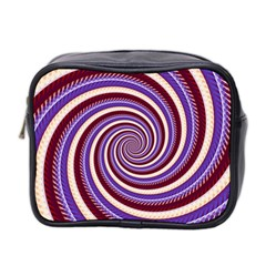 Woven Spiral Mini Toiletries Bag 2 Side by designworld65