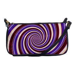 Woven Spiral Shoulder Clutch Bags by designworld65