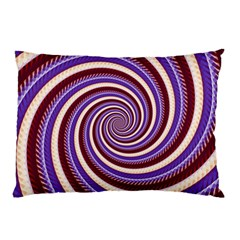 Woven Spiral Pillow Case (two Sides) by designworld65