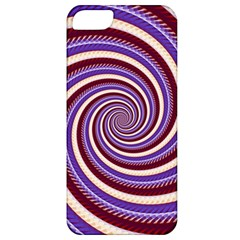 Woven Spiral Apple Iphone 5 Classic Hardshell Case by designworld65