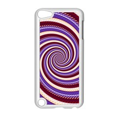 Woven Spiral Apple Ipod Touch 5 Case (white) by designworld65