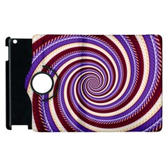 Woven Spiral Apple Ipad 3/4 Flip 360 Case by designworld65