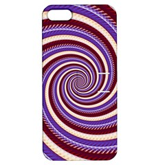 Woven Spiral Apple Iphone 5 Hardshell Case With Stand by designworld65