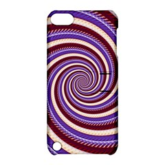 Woven Spiral Apple Ipod Touch 5 Hardshell Case With Stand by designworld65