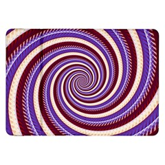 Woven Spiral Samsung Galaxy Tab 8 9  P7300 Flip Case by designworld65