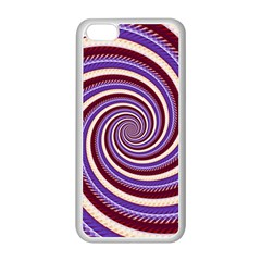 Woven Spiral Apple Iphone 5c Seamless Case (white) by designworld65