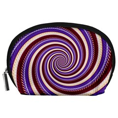 Woven Spiral Accessory Pouches (large)  by designworld65