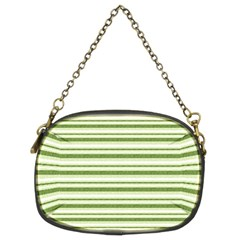 Spring Stripes Chain Purses (two Sides)  by designworld65