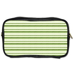 Spring Stripes Toiletries Bags 2 Side by designworld65