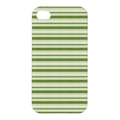 Spring Stripes Apple Iphone 4/4s Premium Hardshell Case by designworld65
