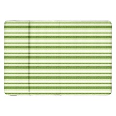 Spring Stripes Samsung Galaxy Tab 8 9  P7300 Flip Case by designworld65