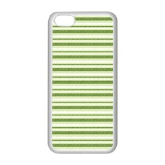 Spring Stripes Apple Iphone 5c Seamless Case (white) by designworld65